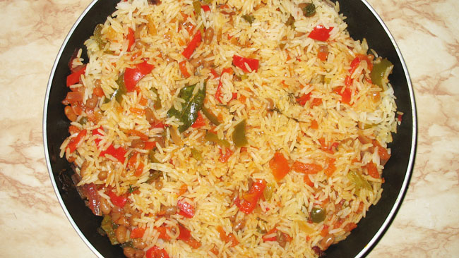 Рис с овощами В ожидании чуда