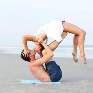 йога вдвоём