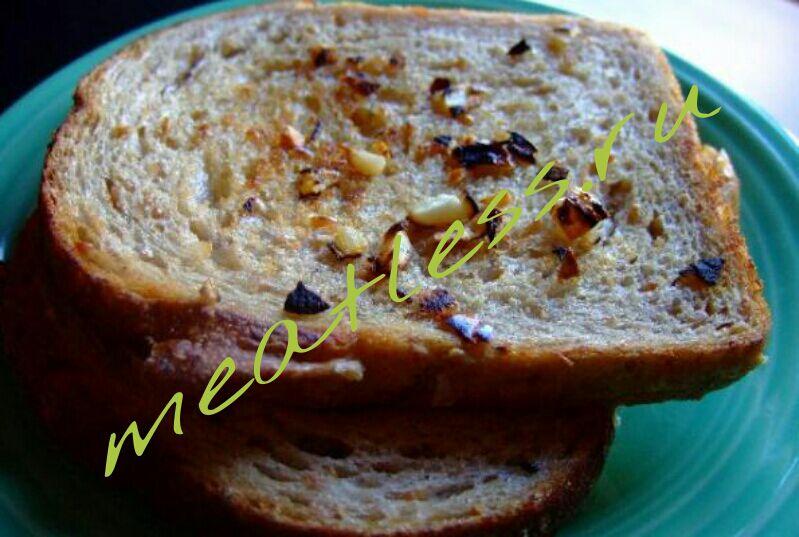 гренки из хлеба с чесноком