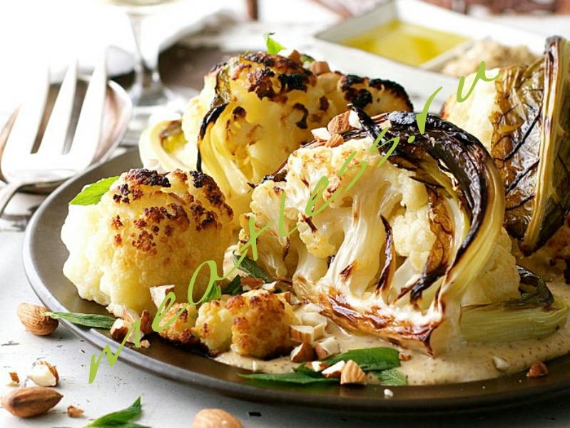 Вегетарианский рецепт: обжаренная цветная капуста
