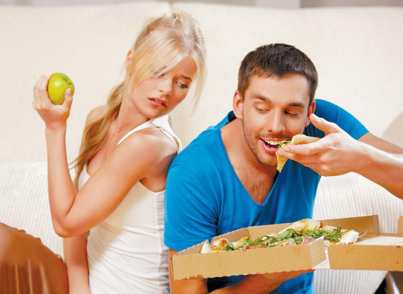 виды здорового питания