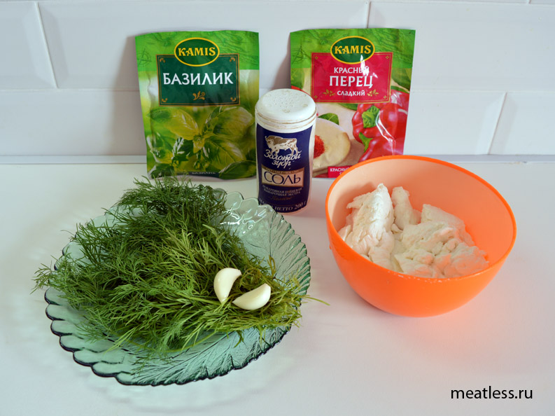 Рецепт - творожные шарики, ингредиенты