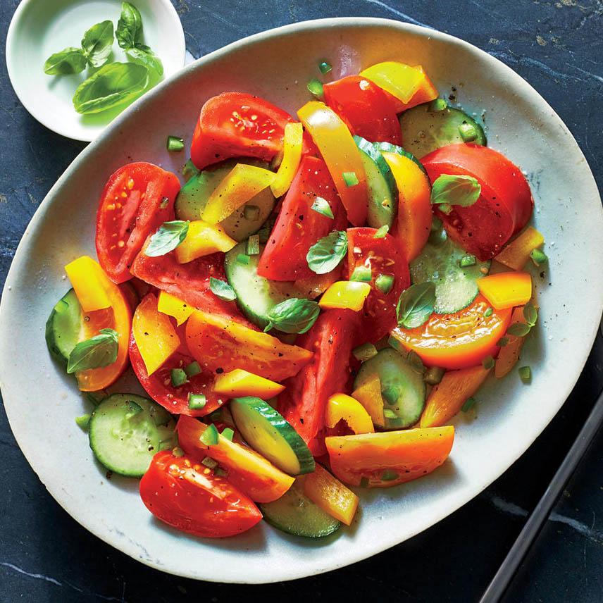 """Вегетарианский салат """"Минутка"""""""